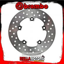 68B40753 DISCO FRENO POSTERIORE BREMBO APRILIA MX 2004-2007 125CC FISSO