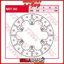 MST342 DISCO FRENO POSTERIORE TRW Suzuki RM 125 1999-2005 [RIGIDO - ]