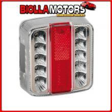 41522 LAMPA FULL-LED, FANALE POSTERIORE A 14 LED, 12V