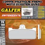 FD168G1375 PASTIGLIE FRENO GALFER SINTERIZZATE ANTERIORI APRILIA ETV MANA 02-