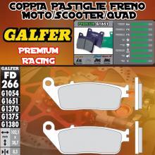 FD266G1651 PASTIGLIE FRENO GALFER PREMIUM ANTERIORI HONDA 599 (USA) 00-06