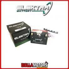 246610200 BATTERIA ELEKTRA YT12A-BS SIGILLATA CON ACIDO YT12ABS MOTO SCOOTER QUAD CROSS