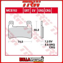 MCB703SV PASTIGLIE FRENO ANTERIORE TRW Hyosung GT 250 Ri 2015-2017 [SINTERIZZATA- SV]