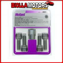 MG28023SL MCGARD BULLONI SFERICI, KIT 4 PZ - ULTRA HIGH SECURITY - E050 CHRYSLER CROSSFIRE COUP? 2P (11/03>12/07)