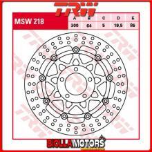 MSW218 DISCO FRENO ANTERIORE TRW Suzuki GSX 750 1998-2002 [FLOTTANTE - ]