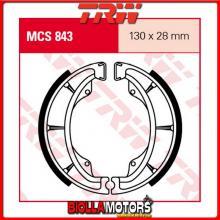MCS843 GANASCE FRENO POSTERIORE TRW Honda CD 175 1971-1978 [ORGANICA- ]