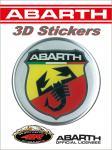 21534 ADESIVO 3D STICKERS STEMMA ABARTH D 75MM