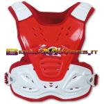 PT02084B Pettorina Reactor 2 Evolution COL. ROSSO BIANCO CROSS OFF ROAD ENDURO
