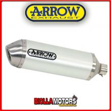 71822AOB MARMITTA ARROW RACE-TECH SUZUKI GSX 1250 FA 2010-2016 WHITE/INOX