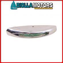 2145773 LUCE CORTESIA SMOOTH CHROME LED WHITE Luci di Cortesia LED 12V Smooth Chrome
