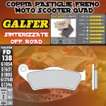 FD138G1396 PASTIGLIE FRENO GALFER SINTERIZZATE ANTERIORI PIAGGIO BEVERLY 400 i.e. 06-