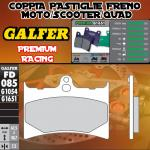 FD085G1651 PASTIGLIE FRENO GALFER PREMIUM ANTERIORI GILERA 125 SP01 89-89
