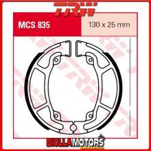 MCS835 GANASCE FRENO POSTERIORE TRW Honda NSC 50 AC Vision 2012- [ORGANICA- ]