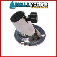0810057 BASE D25 STD INOX Basi Portabandiera in Acciaio Inox