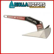 0108806 ANCORA BULL STS 316 6KG< Ancora Toro Inox