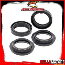 56-119 KIT PARAOLI E PARAPOLVERE FORCELLA Kawasaki EL250 250cc 1987- ALL BALLS