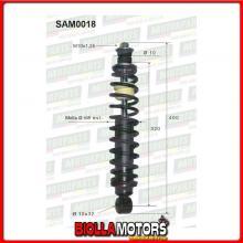 SAM0018 COPPIA AMMORTIZZATORI POSTERIORI MICROCAR VIRGO II 0660154 (MK018)