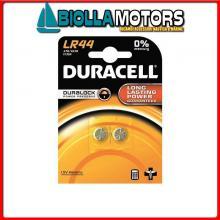 2040009 BATTERIE DURACELL LR44 BLISTER Batterie Duracell LR44