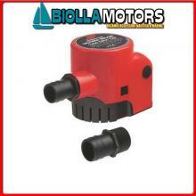 1822416 POMPA ULTIMA BILGE 600GPH 12V Pompe di Sentina Johnson Automatic Ultima