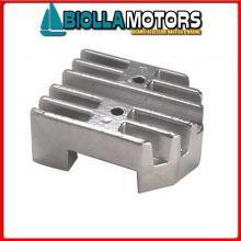 5123001 ANODO MOTORE MERCRUISER Placca Alpha/Bravo