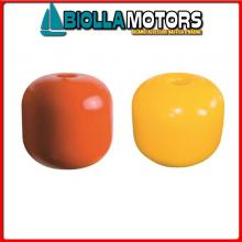 3820419 GALLEGGIANTE DURAFLOAT 20 YELLOW Galleggiante con Foro Passante Dura Float Round