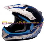 77446754 CASCO CROSS TAGLIA. XL BLU STEP 2 RACE MOD. ECUBA