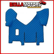 96480 LAMPA TAPPETO CENTRALE IN SIMILPELLE - BLU - IVECO STRALIS (08/02>12/12)