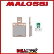 6215009 COPPIA PASTIGLIE FRENO MALOSSI Anteriori BETA EIKON 125 4T LC Anteriori - per veicoli PRODOTTI 1999 --> ** OMOLOGATE **