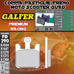 FD290G1651 PASTIGLIE FRENO GALFER PREMIUM ANTERIORI KAWASAKI VN 1600 MEAN STREAK 05-