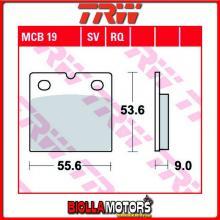 MCB19RQ PASTIGLIE FRENO ANTERIORE TRW Ducati 750 F1 1986- [SINTERIZZATA- RQ]