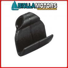 0332600 GANCETTO FLAT BLACK Gancetto Flat per Elastici