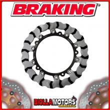 BY709R DISCO FRENO ANTERIORE DX BRAKING BMW S 1000 R 1000cc 2014-2015 WAVE FLOTTANTE
