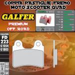FD223G1805 PASTIGLIE FRENO GALFER PREMIUM ANTERIORI METRAKIT MINI GP XL 80 PRO 04-