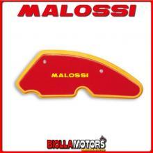 1413417 SPUGNA FILTRO ARIA MALOSSI APRILIA SR R (CARB.) 50 2T LC (PIAGGIO) RED SPONGE PER FILTRO ORIGINALE -