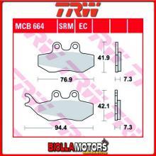 MCB664 PASTIGLIE FRENO ANTERIORE TRW Piaggio 125 Hexagon LX 2T 1998-1999 [ORGANICA- ]