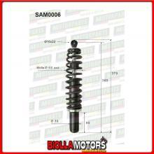 SAM0006 COPPIA AMMORTIZZATORI ANTERIORI MICROCAR JDM ABACA MOUNTAIN 603101 (MK006)