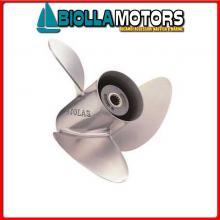 498957215517 ELICA 3P INOX 15 1/2X17L Eliche Solas per Motori Evinrude & Johnson