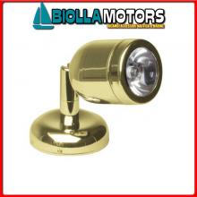 2144066 SPOT READY TAPER GOLD LED 1X3W 12/24< Spot Cap LED