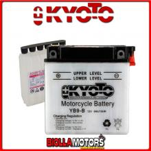 712091 BATTERIA KYOTO YB9-B [SENZA ACIDO] YB9B MOTO SCOOTER QUAD CROSS [SENZA ACIDO]