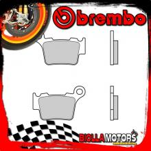 07BB27SD PASTIGLIE FRENO POSTERIORE BREMBO HUSQVARNA CR 2005- 125CC [SD - OFF ROAD]