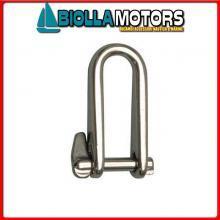 0120918 GRILLO LUNGO PI D8 INOX Grillo Lungo Key Pin B