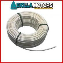 061650650 CAVO INOX+PVC 6MM-50MT Cavo in Acciaio Inox Plastificato per Battagliola