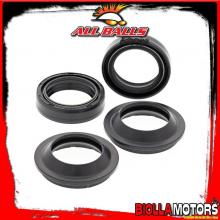 56-113 KIT PARAOLI E PARAPOLVERE FORCELLA Kawasaki BN125 125cc 2001-2009 ALL BALLS