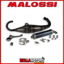 3215341 MALOSSI MHR SCOOTER RACING EXHAUST TEAM 3 Ø 47.6 PIAGGIO-GILERA