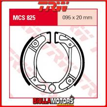 MCS825 GANASCE FRENO ANTERIORE TRW Honda NPS 50 Zoomer 2001- [ORGANICA- ]