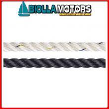 3103116100 LIROS POLYAMIDE ROPE 16MM BLUE NAVY 100M Liros Polyamide Rope