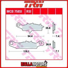 MCB758SI PASTIGLIE FRENO ANTERIORE TRW Kawasaki KFX 450 2007- [ORGANICA- ]