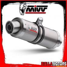 H.035.L6S SCARICO COMPLETO 1x1 MIVV HONDA SH 125 2002-2012 125CC GP TITANIO/INOX STANDARD