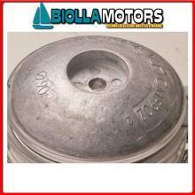 5111009 ANODO FLANGIA ROUND ALU D90 Flange in Alluminio per Timone e Scafo