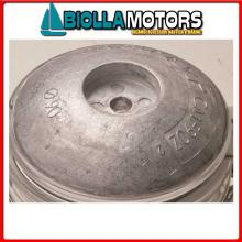5111012 ANODO FLANGIA ROUND ALU D125 Flange in Alluminio per Timone e Scafo